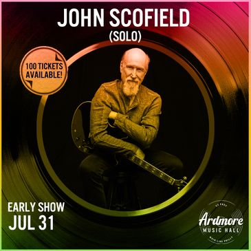 John Scofield (Solo / Early Show)-img