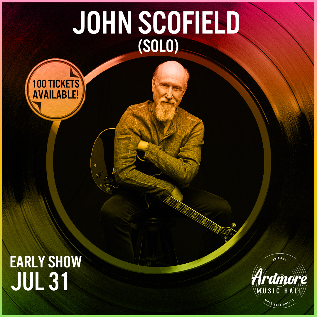 John Scofield (Solo / Early Show): Main Image