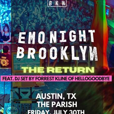 Emo Night Brooklyn w/ Forrest Kline (of Hellogoodbye)-img
