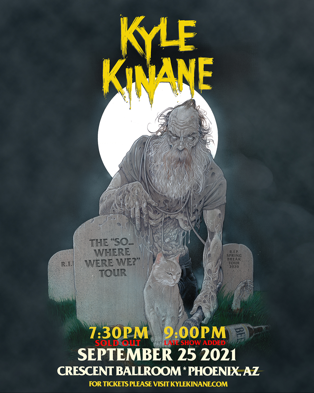 KYLE KINANE (LATE SHOW): Main Image