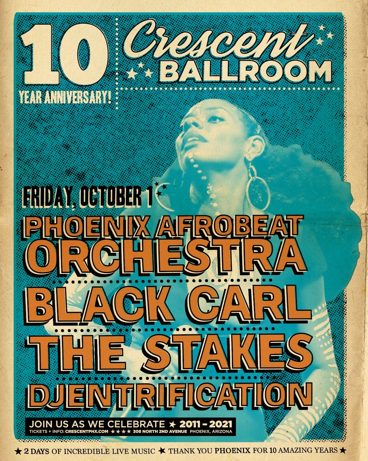 Phoenix Afrobeat Orchestra, Black Carl, The Stakes: