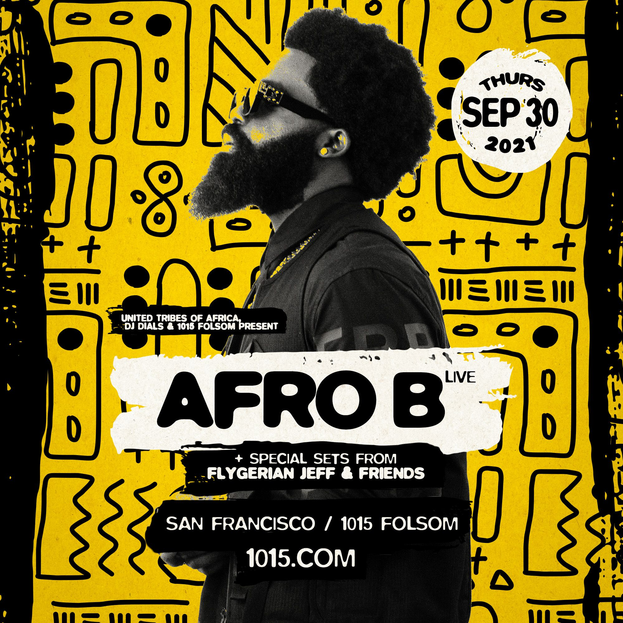 Afro B LIVE: