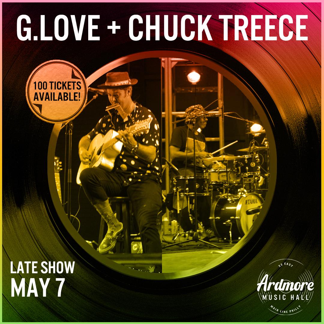 G. Love + Chuck Treece (Late Show): Main Image