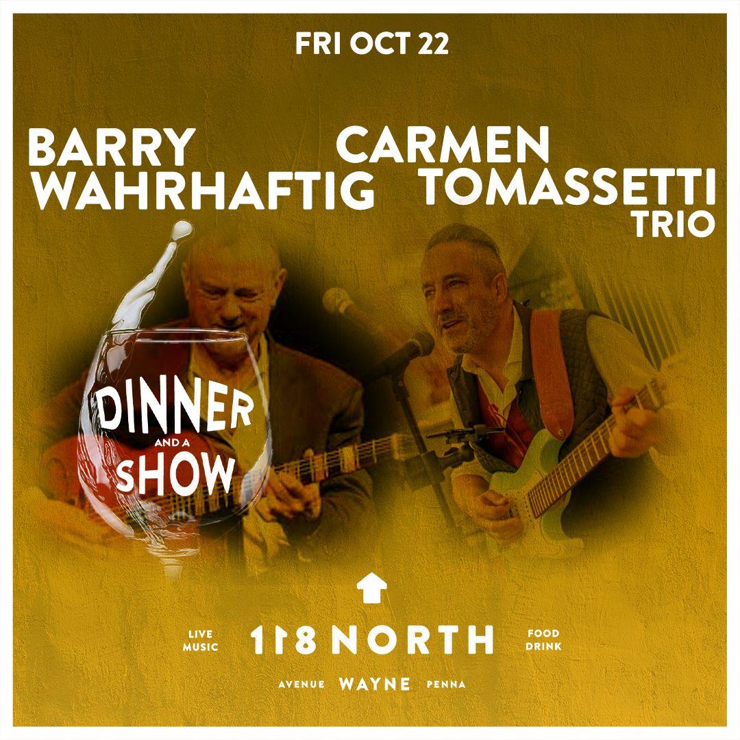 Carmen Tomasetti Trio + Barry Wahrhaftig: