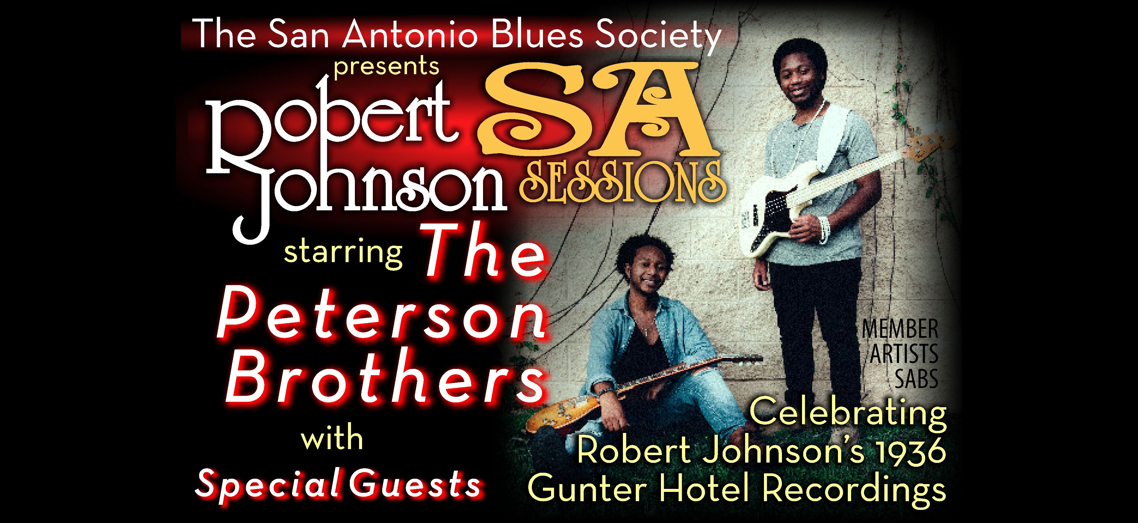 Robert Johnson SA Sessions starring The Peterson Brothers: