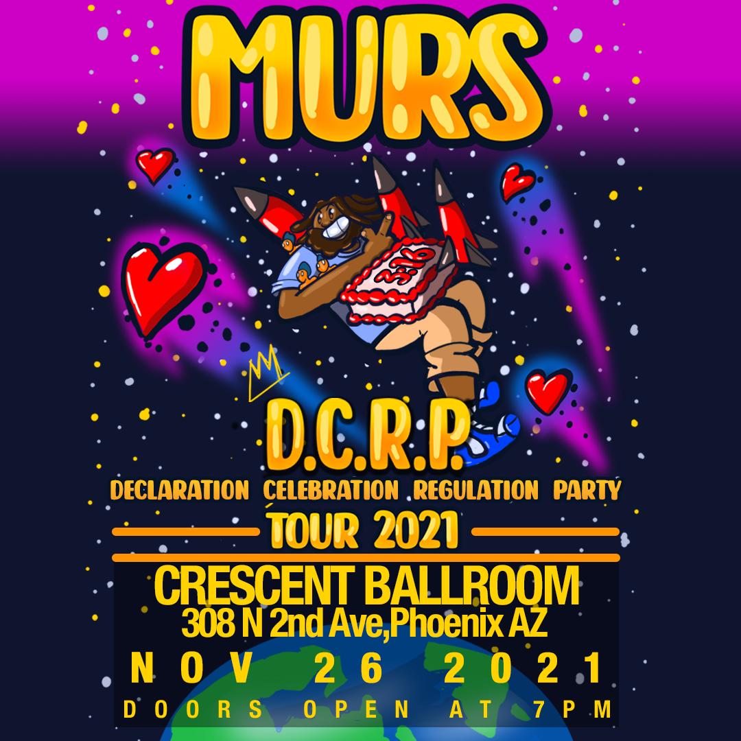 Murs: D.C.R.P. Tour 2021: