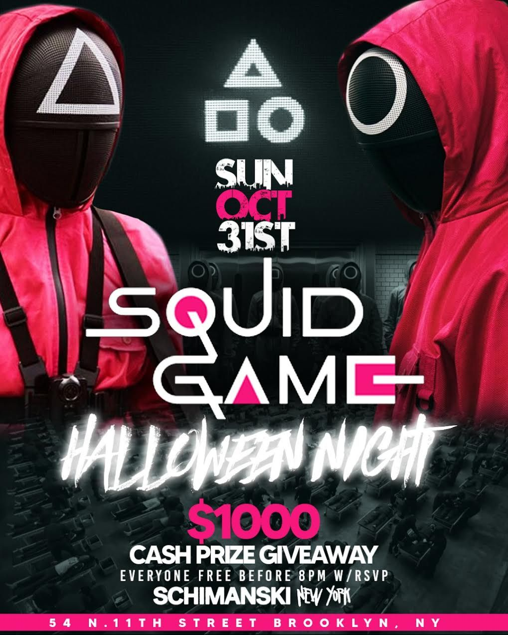 Halloween Night: Squid Game: