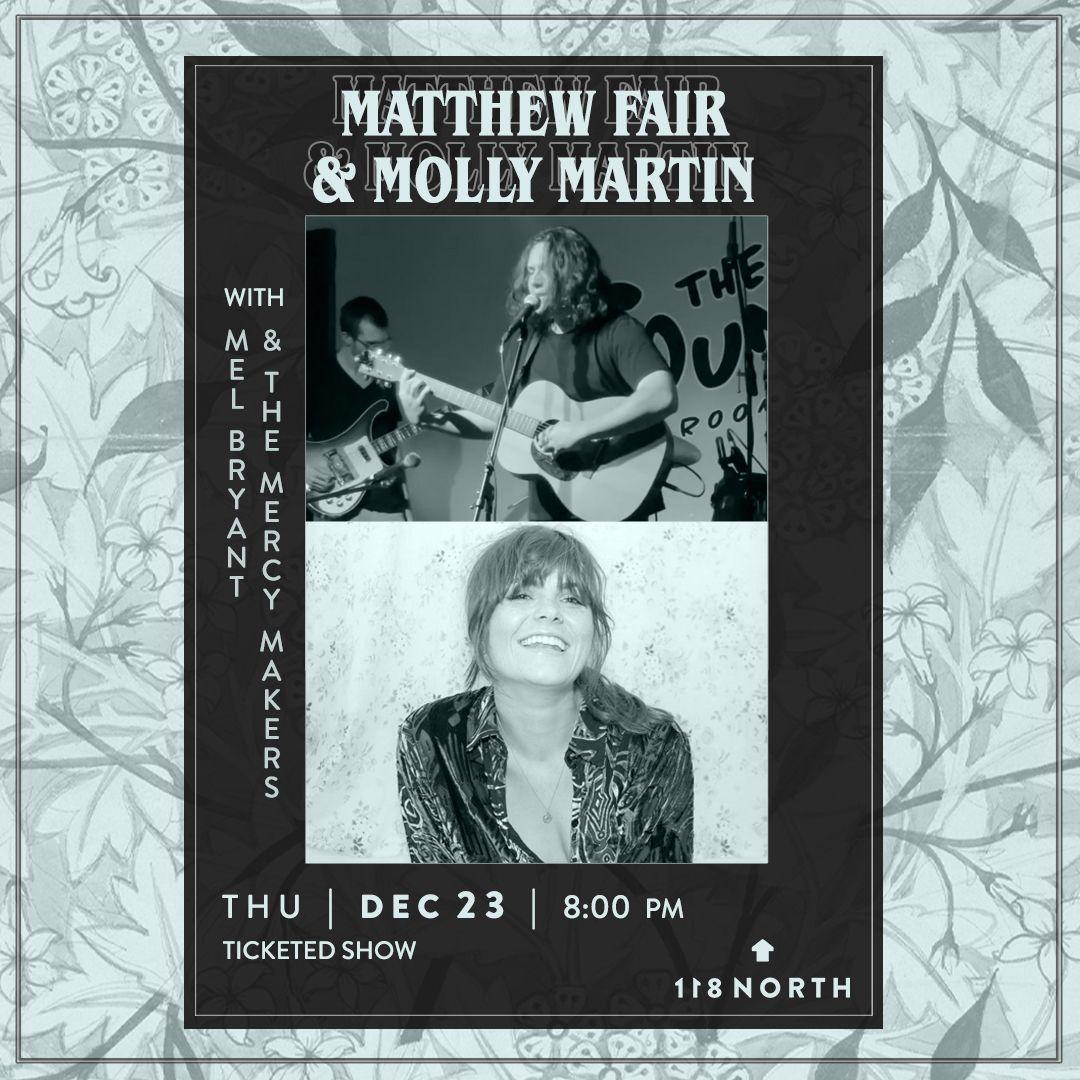 Matthew Fair + Molly Martin: