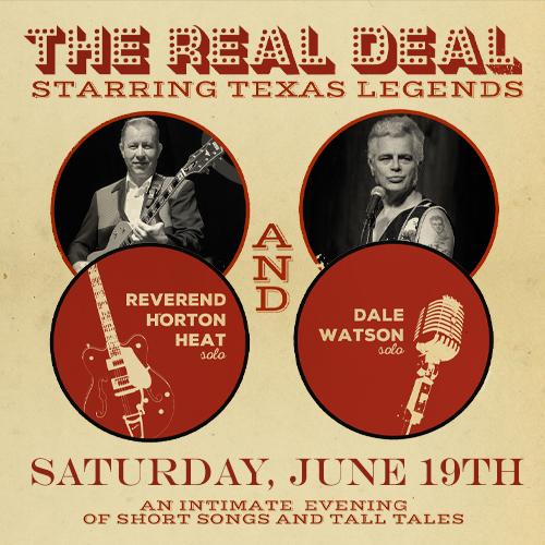 Reverend Horton Heat (SOLO) & Dale Watson (SOLO): Main Image
