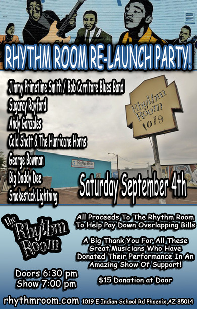 Rhythm Room Re-Launch Party!: Main Image