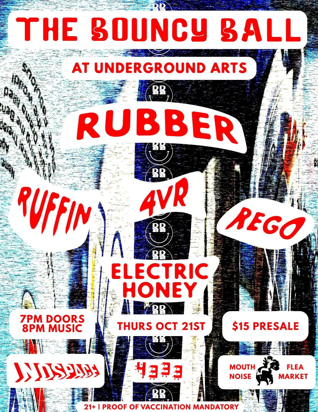 Rubber, Ruffin, Rego, 4VR: