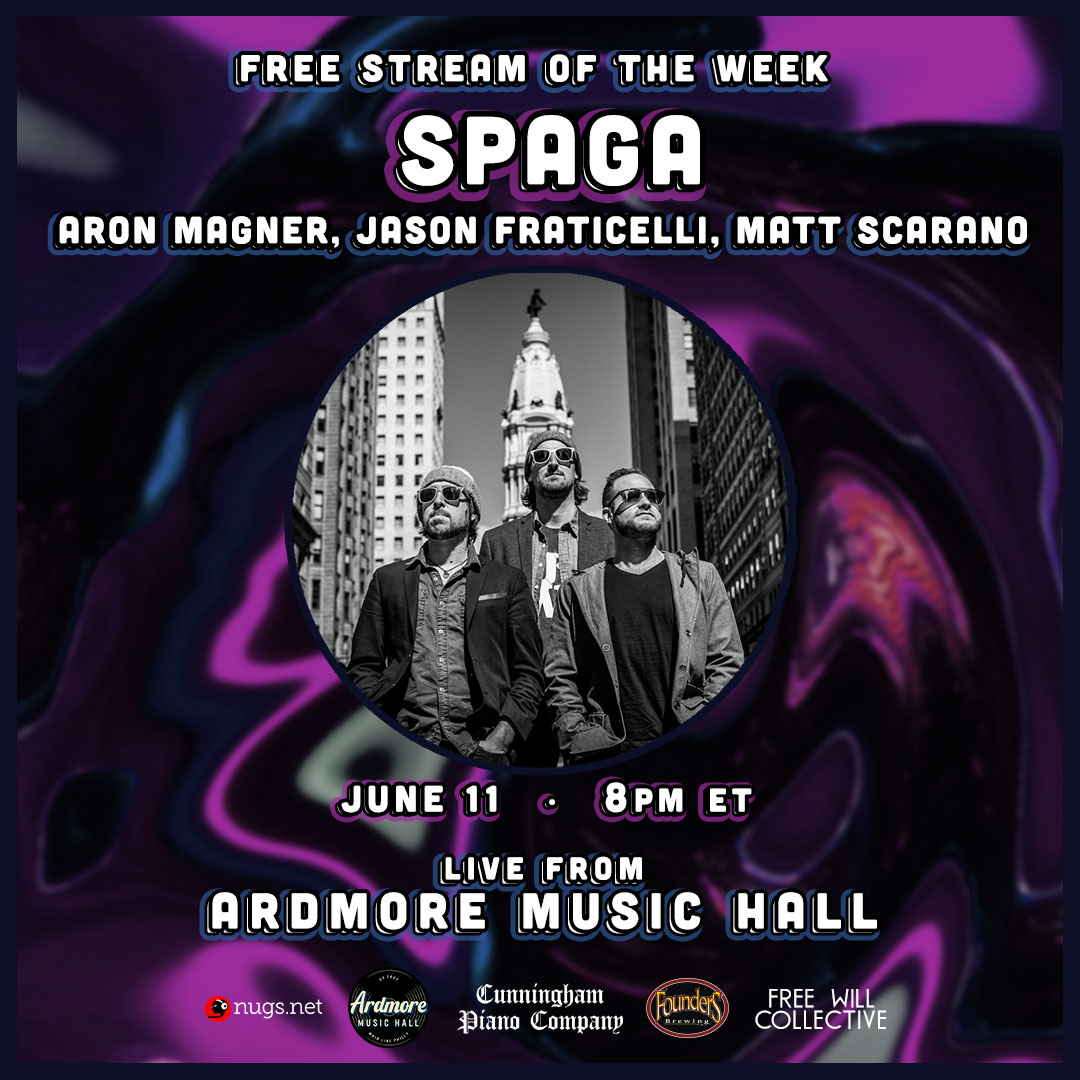 SPAGA ft. Aron Magner (The Disco Biscuits): Free LIVEstream: Main Image