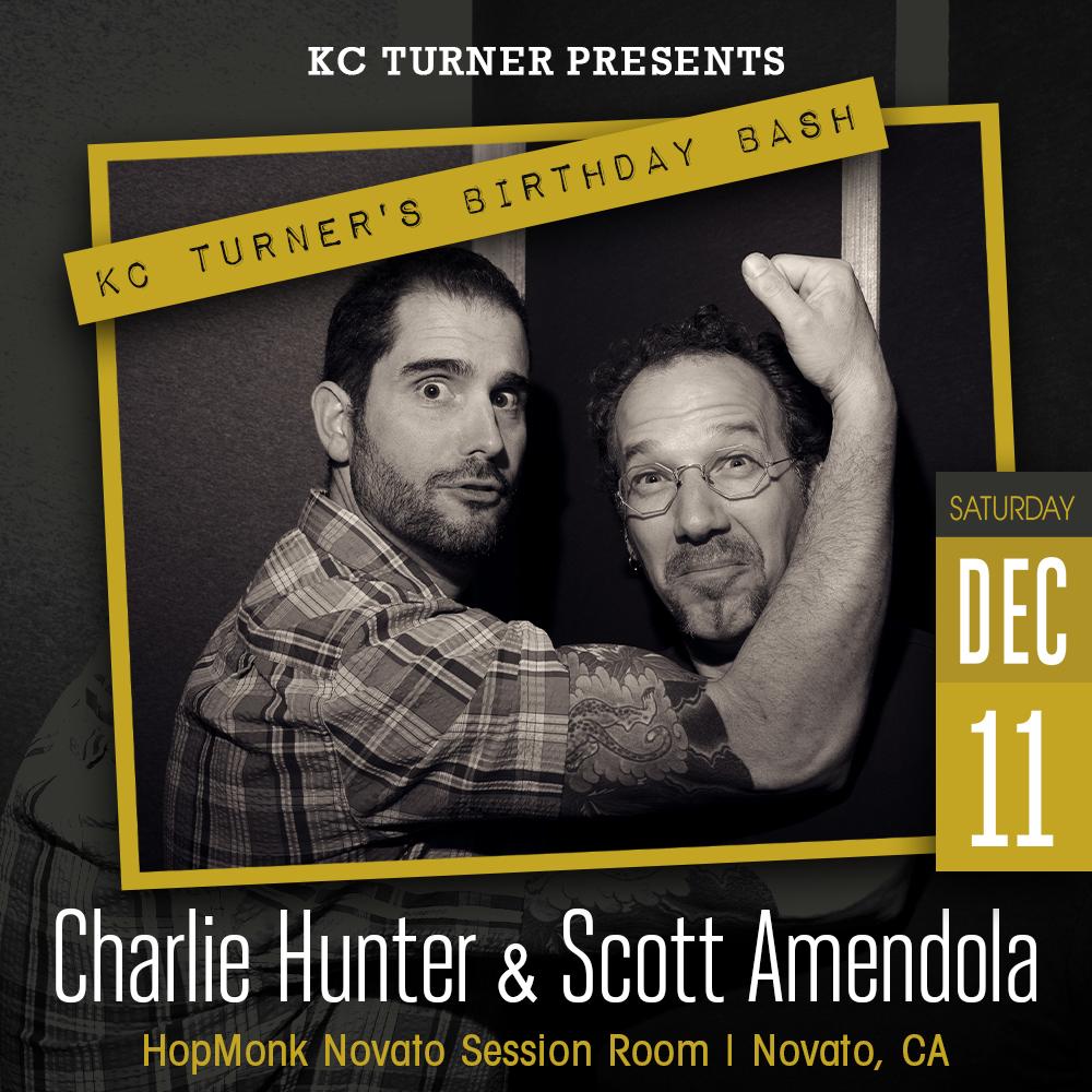 Charlie Hunter & Scott Amendola:
