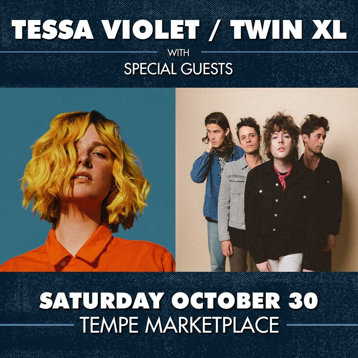 TESSA VIOLET and TWIN XL