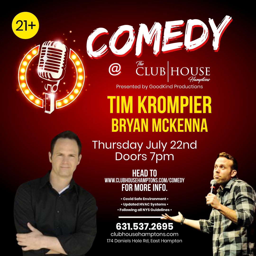 Tim Krompier (EARLY SHOW) - Cancelled: Main Image