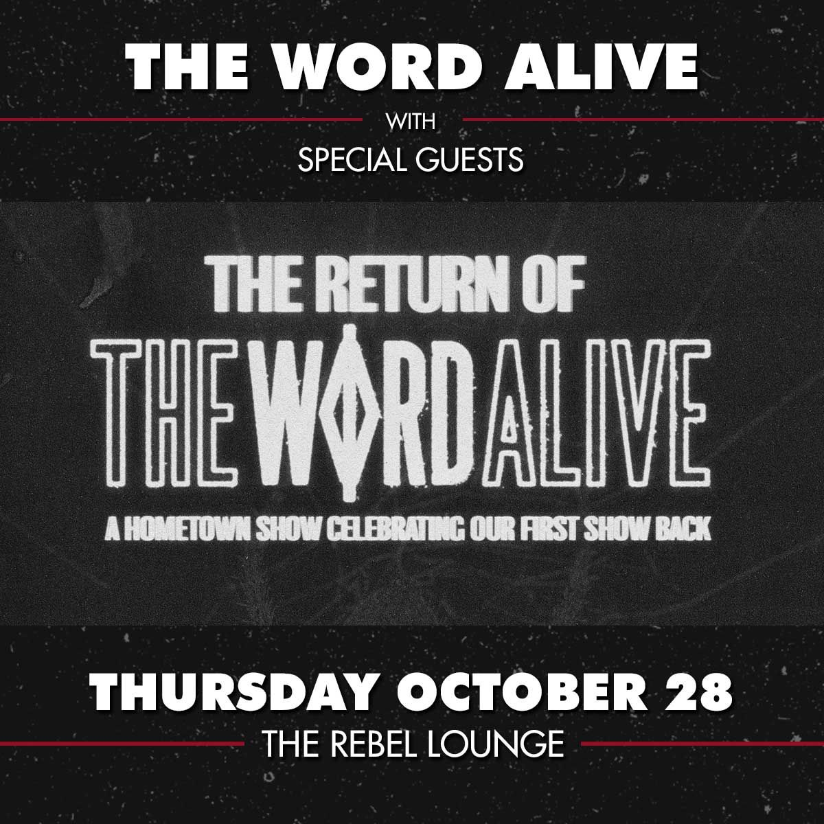 THE WORD ALIVE: