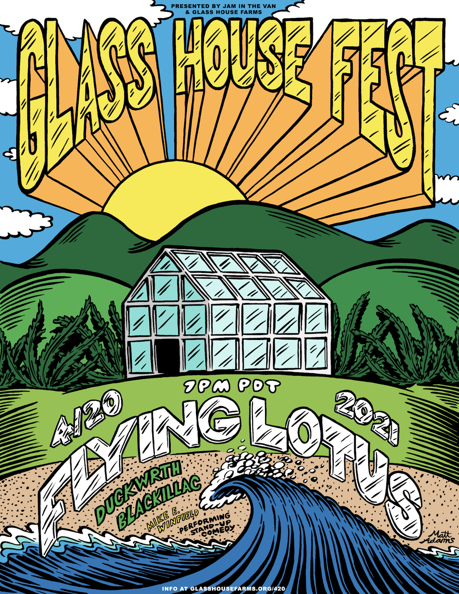 Glass House Farms Presents: Glass House Fest: Main Image