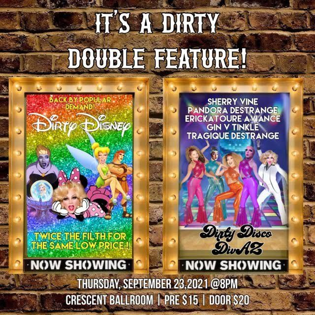 Dirty Double Feature: Dirty Disney + Dirty Disco: