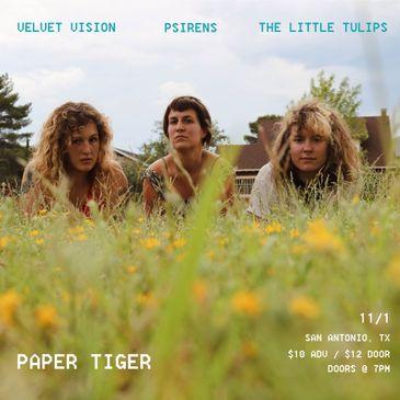 The Little Tulips, Velvet Vision, PSIRENS-img