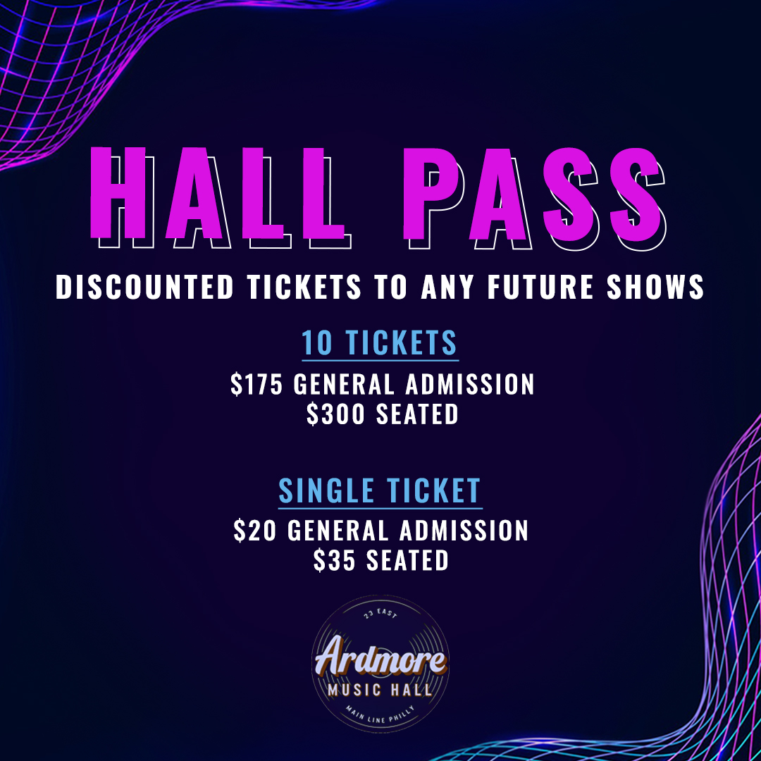 Redeem Tickets to ANY Show through 2022 --> AMH Hall Pass: Main Image
