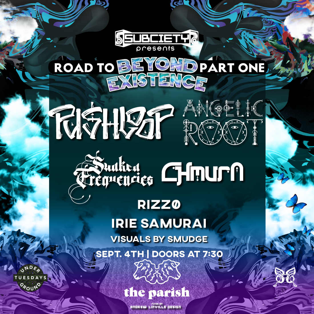 Road to Beyond Existence Pt. 1 ft. Pushloop, Angelic Root: