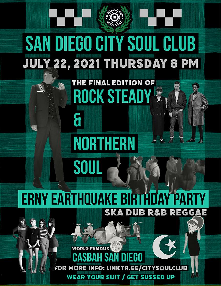 San Diego City Soul Club: Main Image