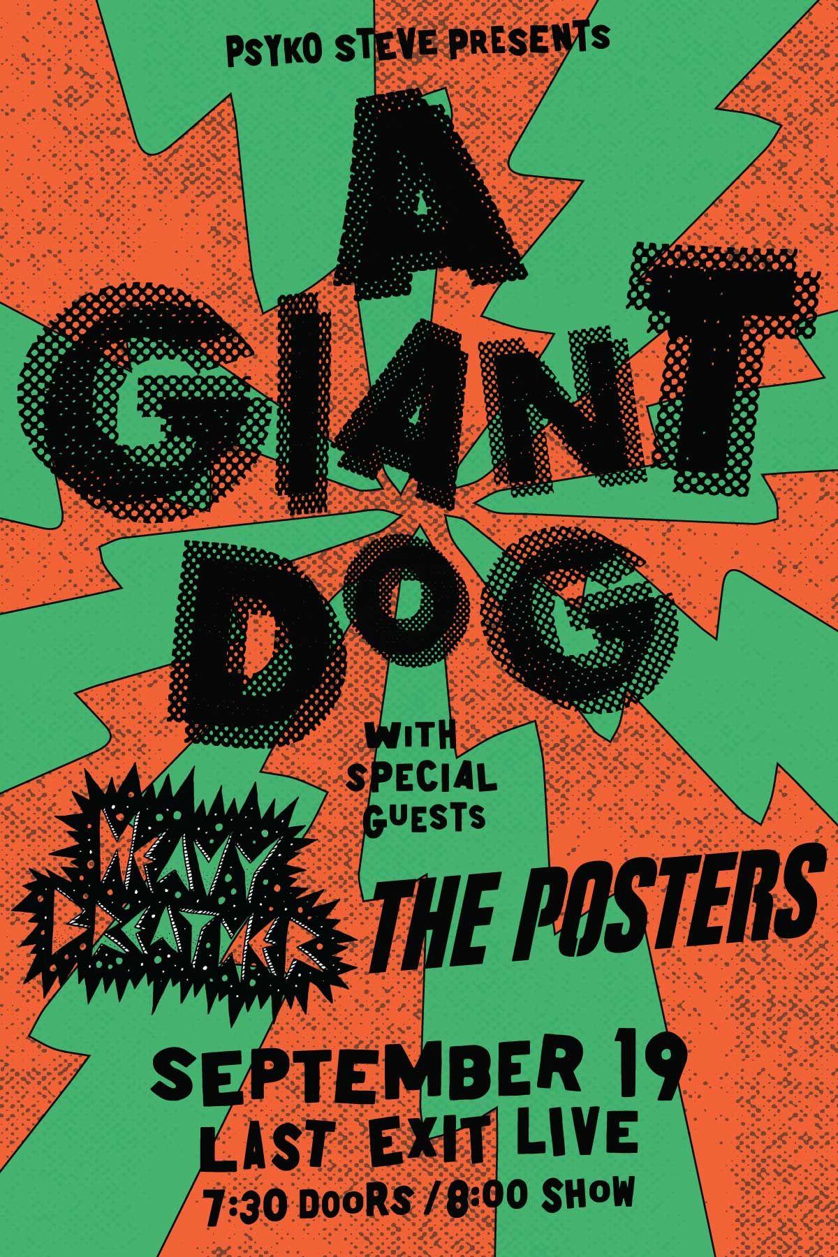A GIANT DOG: