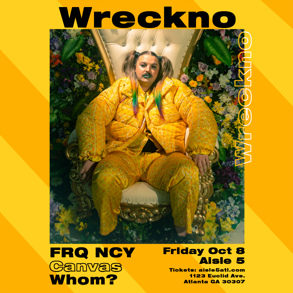Sold Out: Wreckno at Aisle 5: