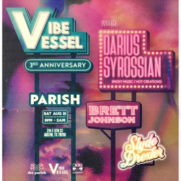 Vibe Vessel Presents: Darius Syrossianw/ Brett Johnson-img