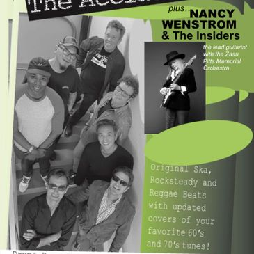 THE ACCIDENTS (+ NANCY WENSTROM & THE INSIDERS)-img