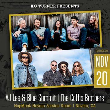 AJ Lee & Blue Summit (Album Release) | The Coffis Brothers-img