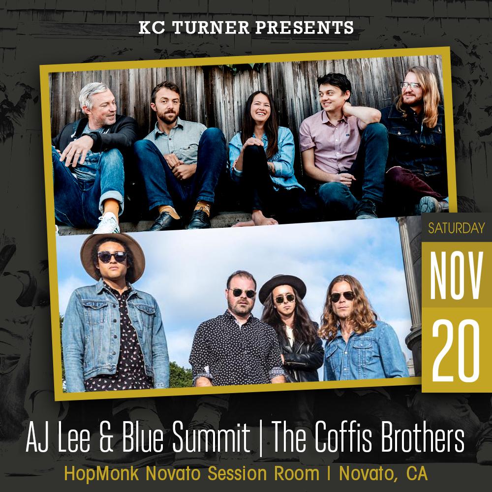 AJ Lee & Blue Summit (Album Release) | The Coffis Brothers: