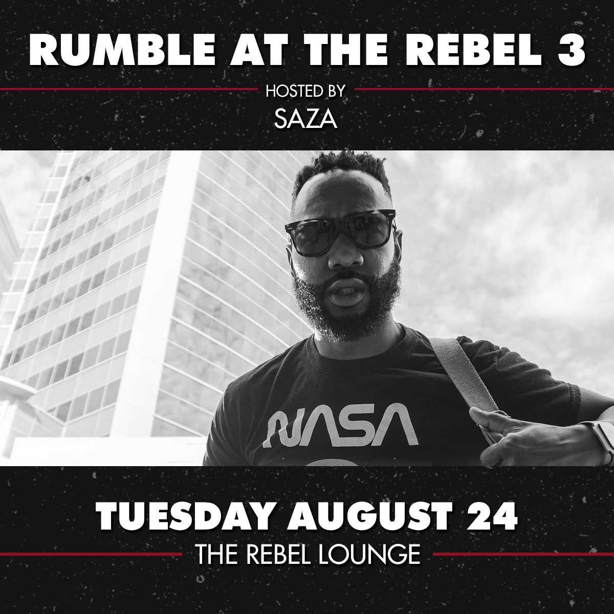 RUMBLE AT THE REBEL 3: