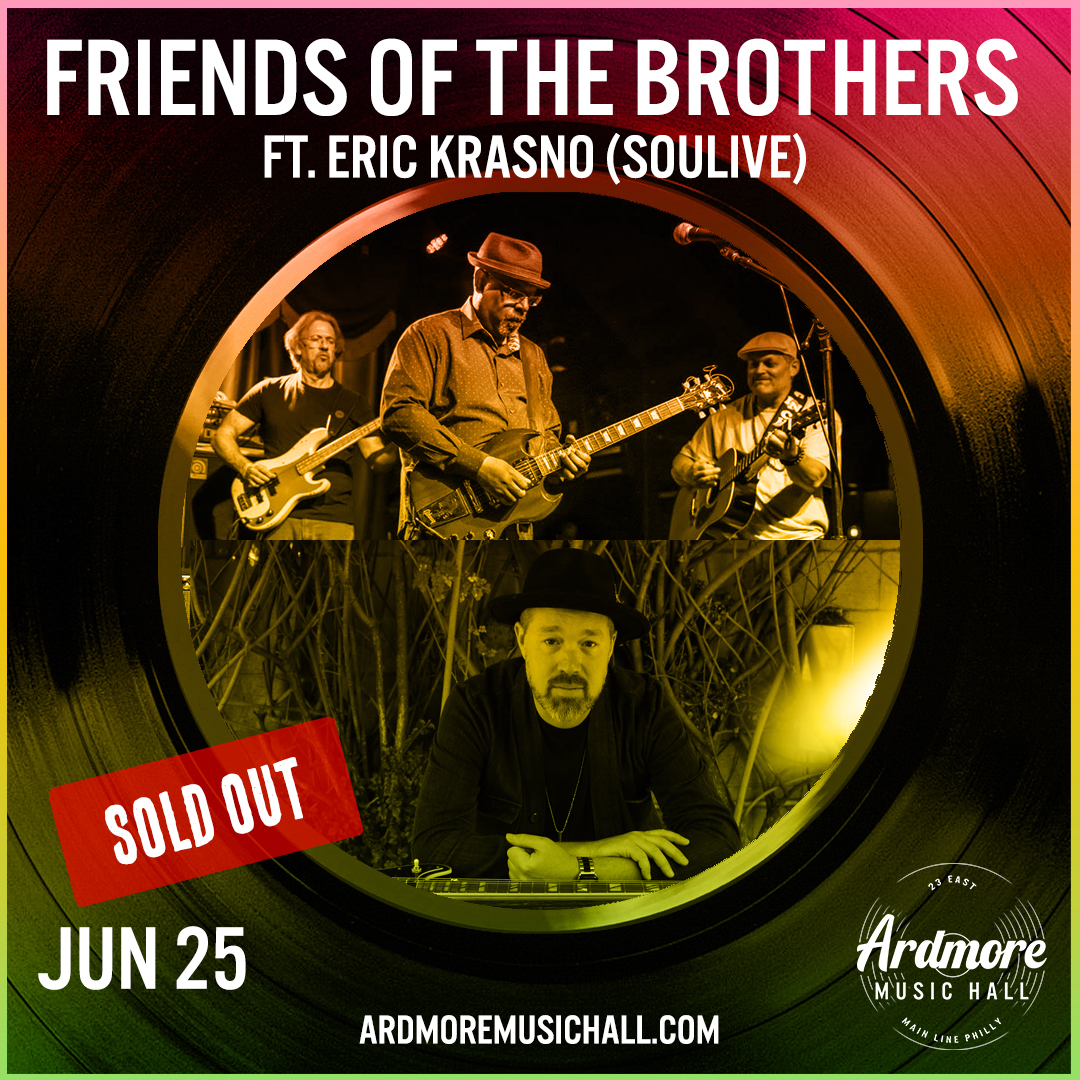 *Sold Out* Friends of the Brothers (Allman Brothers Tribute): Main Image