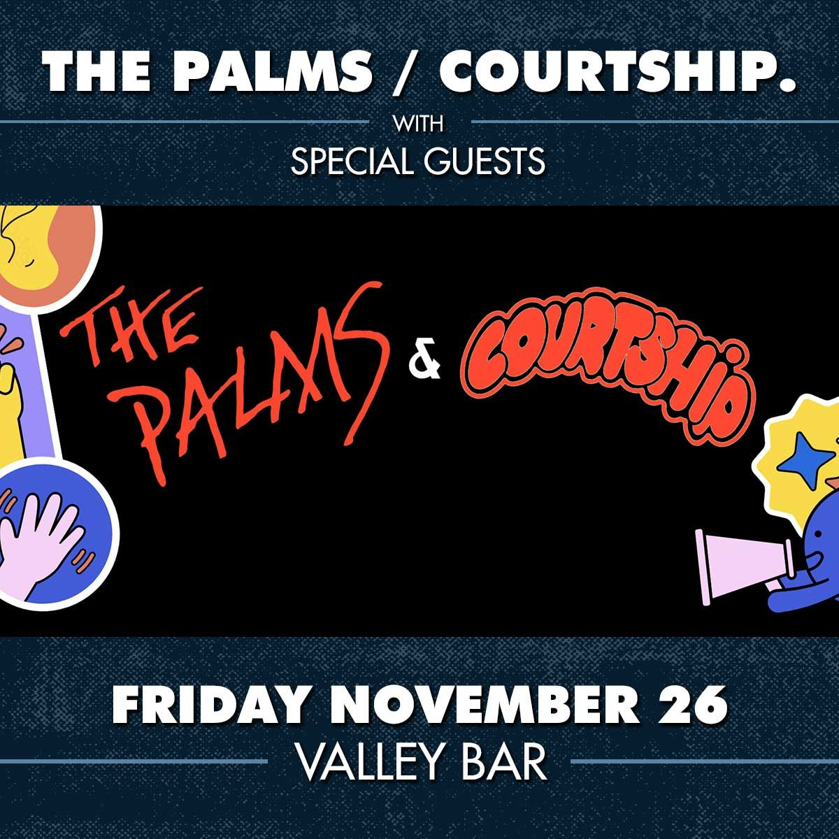 COURTSHIP. / THE PALMS