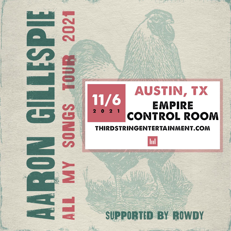 Aaron Gillespie: Main Image