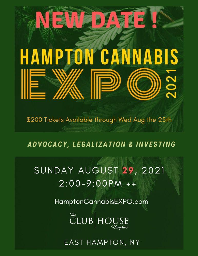 Hamptons Cannabis Expo 2021: