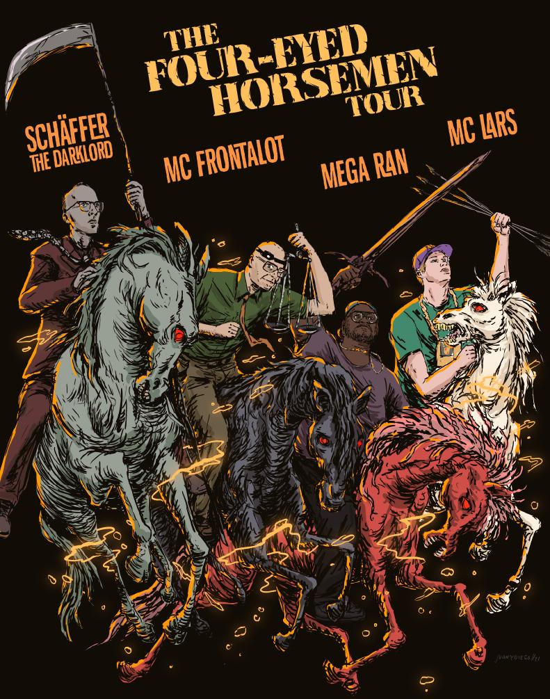 MC Lars, Mega Ryan, MC Frontalot, Schaffer the Darklord: Main Image