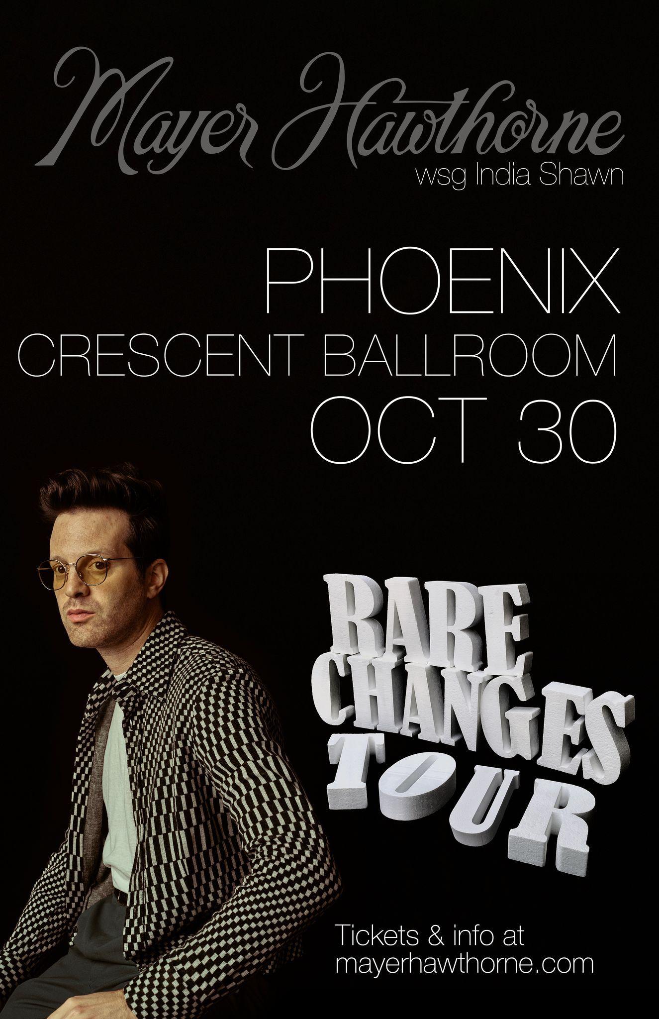 Mayer Hawthorne: Rare Changes Tour