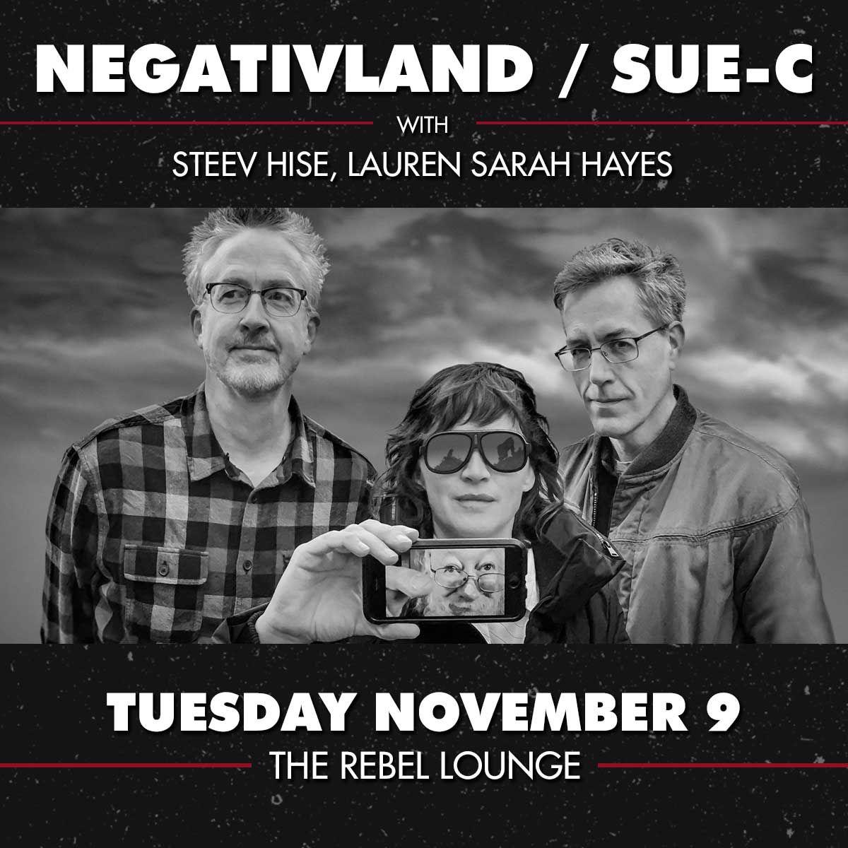 NEGATIVLAND and SUE-C: