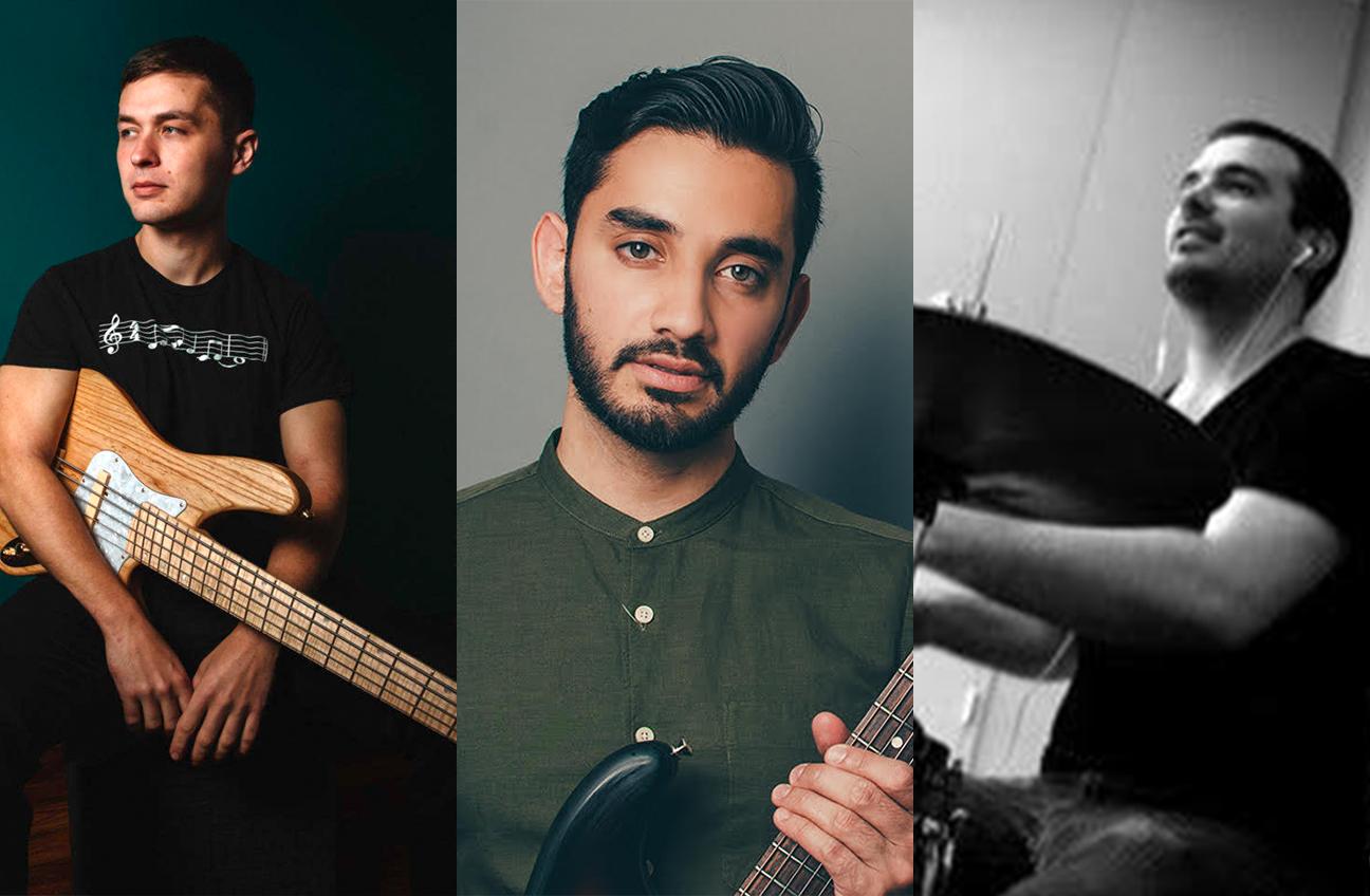 Adam Neely, Shubh Saran, Josh Bailey: