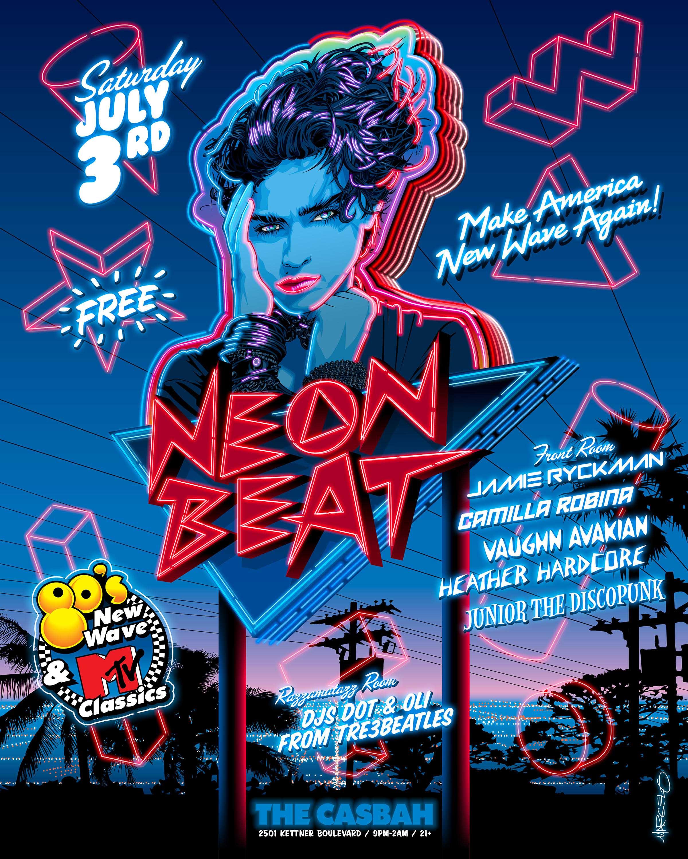 Neon Beat: Main Image