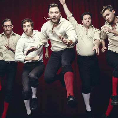 THE IMPROVISED SHAKESPEARE COMPANY (Late Show):
