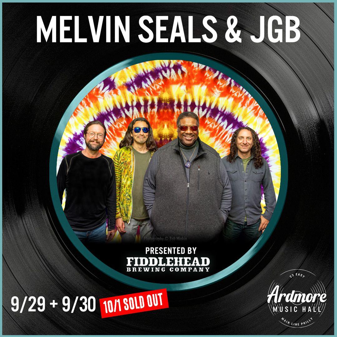 Melvin Seals & JGB ft. Ron Holloway: