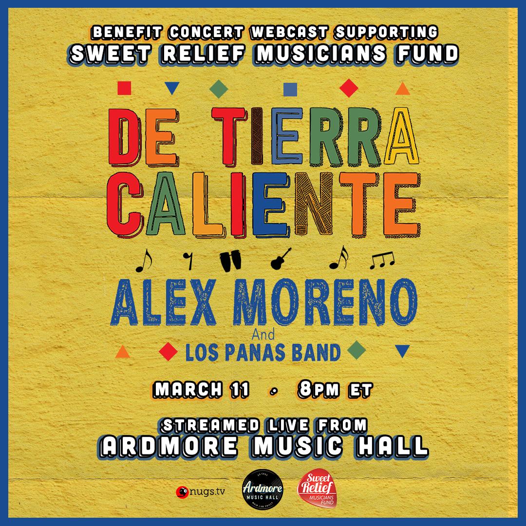 De Tierra Caliente + Alex Moreno LIVE On Stage Webcast: Main Image