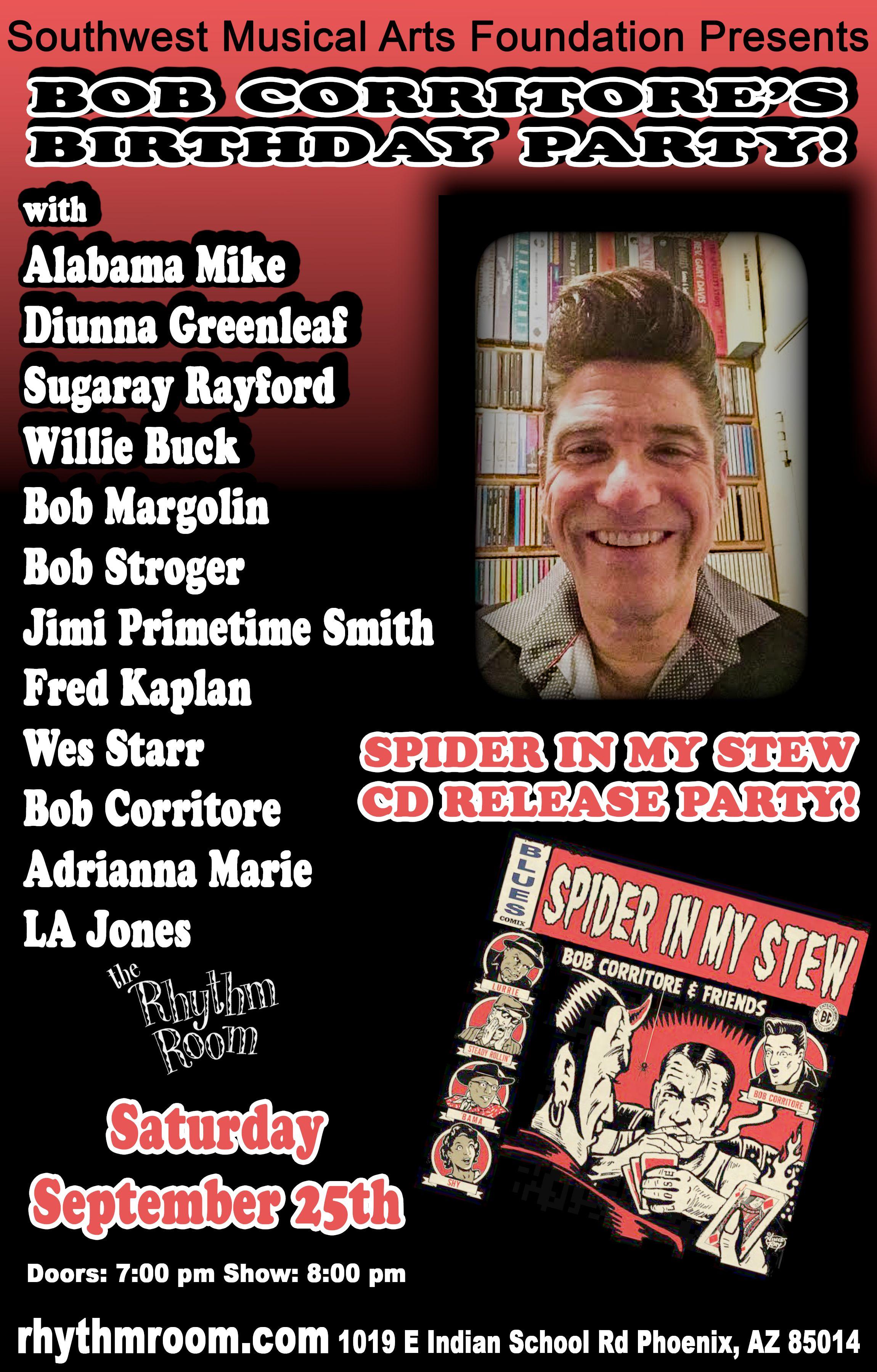 Bob Corritore's Birthday Party!: