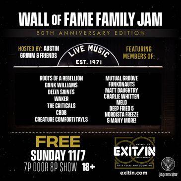 Wall of Fame Family Jam-img