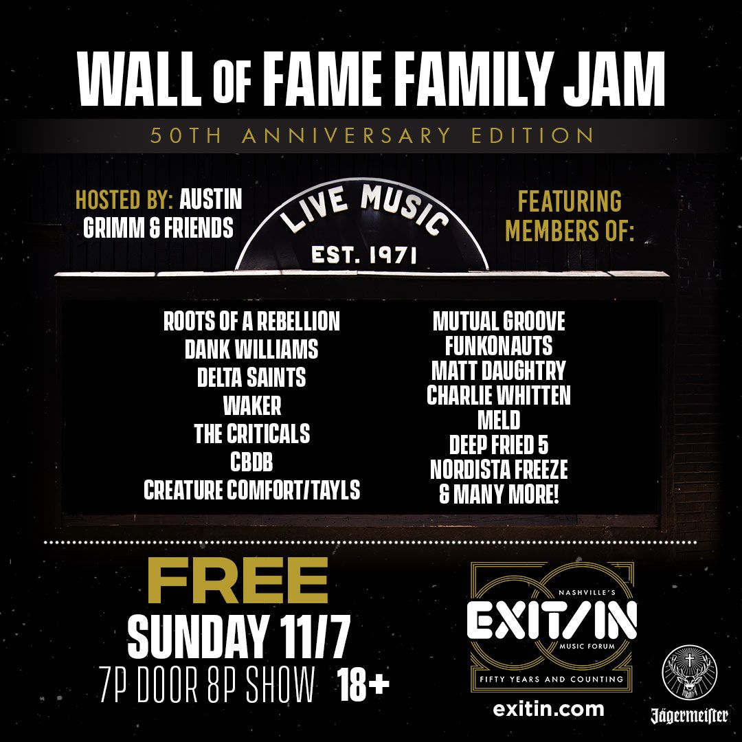 Wall of Fame Family Jam: