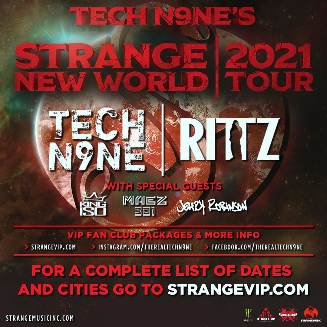 Tech N9ne's Strange New World Tour: Main Image