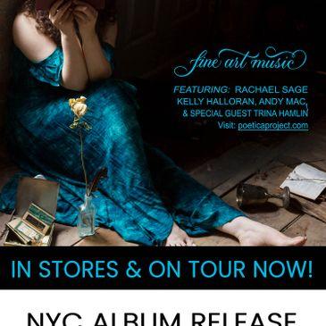 Rachael Sage: POETICA Album Release-img